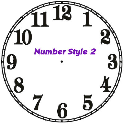 number style 2