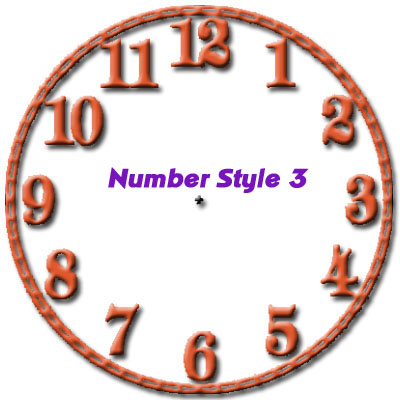 number style 3